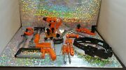 Huge Lot Of 20 Black And Decker Play Pretend Toy Tools Drill Hammer Plastic Kids