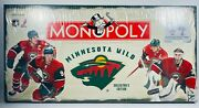 Nhl Minnesota Wild Collector's Edition Monopoly Game New