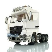 Lesu Metal 66 Chassis Roof Light Hercules Actros Cabin 1/14 Rc Tractor Truck