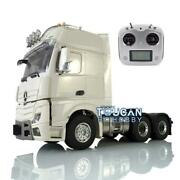 Lesu 66 Metal Chassis Radio Light 1/14 Hercules Actros Cabin Rc Tractor Truck