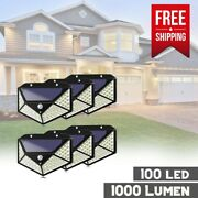 Security Lights Front Door Sensor Driveway Porch Garage Fence Solar Wall Outside