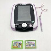 Leap Frog Leappad 2 Pink Stylus 33275 - With 2 Games Tested