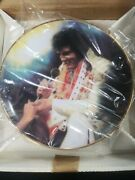 Collectible Elvis Presley Loving You Second In Elvis Remembered Plate Nib