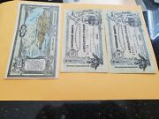 3 Russia Notes Au/unc Just Light Handlings