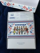 Vice Golf Balls Russia World Cup Soccer Messi Neymar Mo Limited Rare Sealed