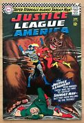 Justice League America 45 1st Shaggy Man Cheerios Scooter 1 Ad Palisades Park