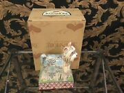 """Jim Shore Pj """" Hand Signed York Ie Dog Figurine New W / Box And Tag"""