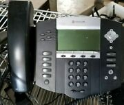 Lot Of 10 Polycom Soundpoint Ip 550 Voip Business Office Phone 2201-12550-001