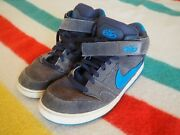 Nike 6.0 Air Zoom Oncore Skate Dunk Mid - Size 11 Mens Us Skateboard Shoes Euc
