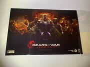 Gears Of War Judgement 2012 Sdcc Exclusive Poster Rare Comic Con 623/1250