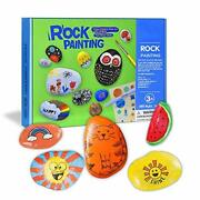 Soky Gifts For 5-10 Year Old Girl Toys Craft Kits Rocks Painting For Kids Age