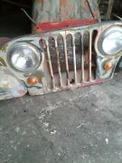 1958 Kaiser Jeep Original Steel Body And Frame