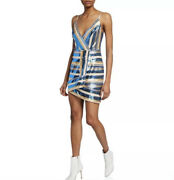 Ryse The Label | Stephanie | Sequin Cocktail/party Dress Faux Wrap Size Xs