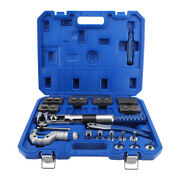 Tube Expander Hydraulic Copper Pipe Expanding Flaring Tool Kit 6mm-22mm