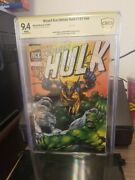 Hulk 181 Nn Wizard Ace Edition Marvel/wizard Interior Signed By H.trimpe 9.4