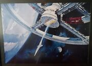 2001 A Space Odyssey Museum Lithograph