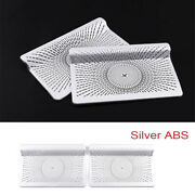 Silver Abs Interior Under Seat Air Outlet Decoration Trim For Benz Gle/gls 2020