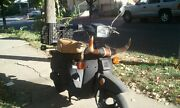 Honda Nq50 Spree Seat Cover Scooter 1985 1986 1987 Tan And Black Welt St/w