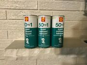 Vintage Shell Outboard Motor Oil Vintage Metal Can Six Pack Full Nos Mint 1960s