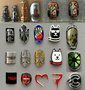 Metal Alloy Head Badge Decals Frame Stickers Road Bike Mtb Bmx Bicycle