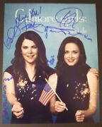 Gilmore Girlsyear In The Life Cast X7 Authentic Hand-signed 11x14 Photo