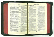 1912 Bible Antique Old Christian Book With Box Collectible Vintage Copyright