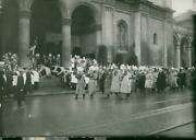 Old Generals And Veterans Marching Past The Chests - Yea - 8x10 Photograph