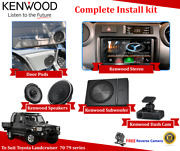 Kenwood Dnx5180s Stereo Package To Suit Toyota Landcruiser Vdj79 70 79 Series