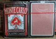 Monte Carlo Pinochle Playing Cards 2 Decks