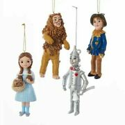 Kurt S. Adler The Wonderful Wizard Of Oz 5 Inch Hanging Ornaments New For 2020