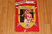 Queen Freddie Mercury Cover And Giant Poster 1986 Mexico Magazine Hard Rock Metal