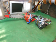 2 X Vintage Homelite Model Ez Chainsaw Chain Saw For Parts