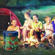 Compact Cooler Stool Basket Carry Bag Insulated Lunchboxes Office Bbq Outdoor