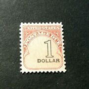 Us Stamp Scott J100 Postage Due 1959 Mnh Dull Gum See Note H77