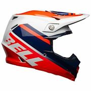 Bell Moto-9 Mips Helmet - Prophecy Gloss Infrared/navy/gray - S Small