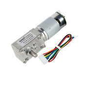 Reversible Gw4058-555 Worm Gear Motor Self-locking High Torque With Hall Drive