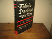 Witchcraft And Demonology In Scottand039s Fiction.coleman O. Parsons - Hardback 1964