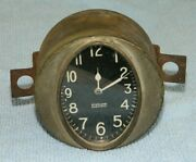 Antique Sterling Electric Oval Dash Clock Believed To Be 1920s Or 30s Packard