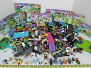 Huge Lot Of Legos Lego Friends Building Toys W Booklets Super Cute Animals