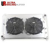 Cooling Radiator For 97-02 03 04 98 Ford Mustang Gt Svt 4.6l V8 Mt +2x12and039and039 Fans