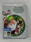 Classic Christmas Favorites Dvd, 2013, 4-disc Set Factory Sealed