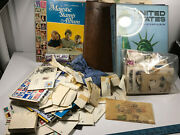 Huge Stamp Collection 2000+ Book 40s-50s Nice Unsorted Partial Uncirculated