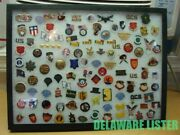 ✅ Huge Mixed Lot Of 100+ Us Military Army Patriotic Hat/shirt Pin Collection
