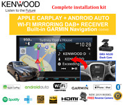 Kenwood Dnx9190dabs For Jaguar S-type 2003-2008 Car Stereo Upgrade