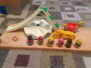 Vintage Lot Weebles Accessories Playground Figures