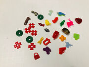 Lot Of 25+ Vintage Cracker Jack Toys Vending Gumball Machine Prize Charms