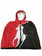 Polo Pwing Colorblocked Big Pony Water Repellent Windbreaker Jacket