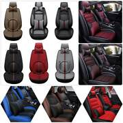 Full Set Auto Truck Car Seat Cover Deluxe Protector Front Rear Universal 5-seats