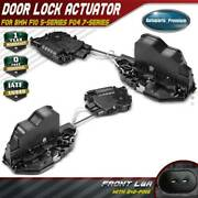 2x Door Lock Actuators For Bmw F10 528i F01 F02 740i 750i M5 Front Left And Right