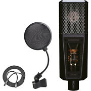 Lewitt Lct-940 Flagship Tube/fet Condenser Microphone + Pop Filter + Mic Cable